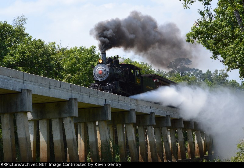 TP 316 on the Neches River Trestle