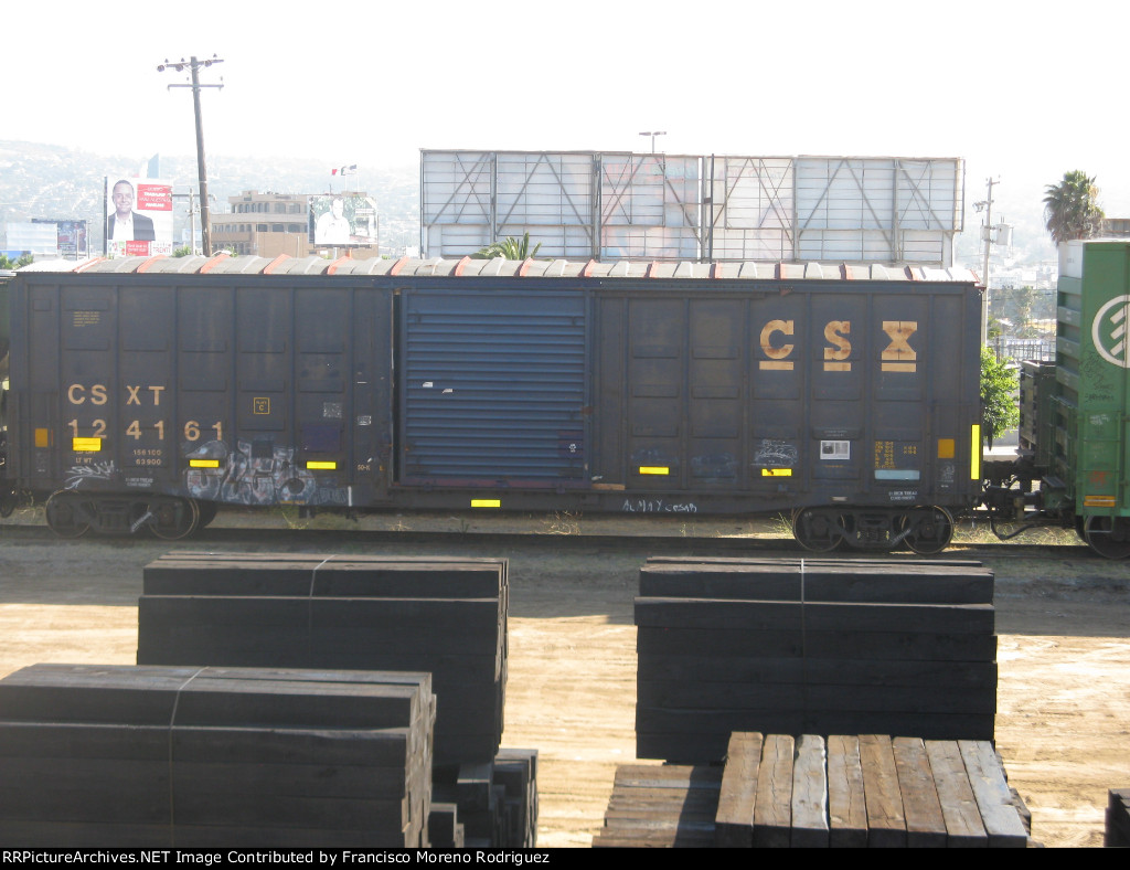 CSX 124161 Rare Line in Tijuana