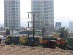 These are the three operating locomotives in Tijuana