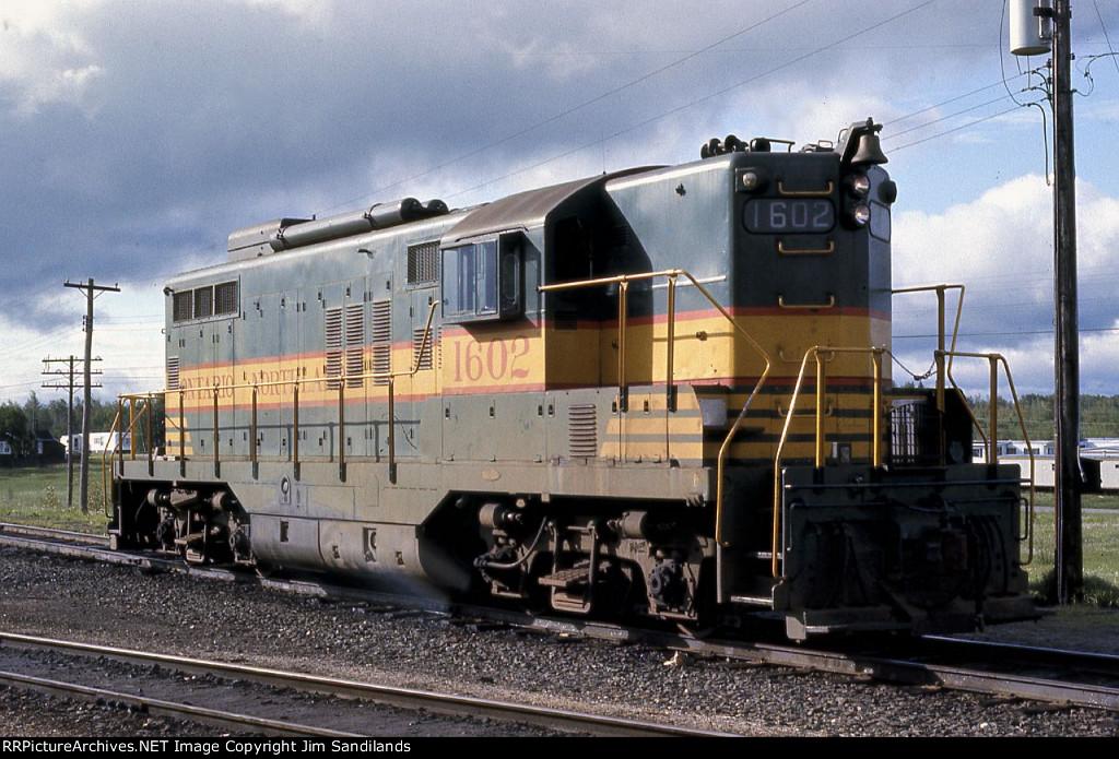 ONR GP9 1602 at Cochrane