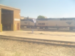 Amtrak loco yard