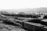 A view from the hillside of the Steamtown complex.