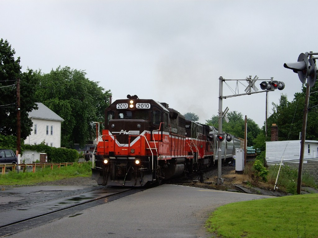 Providence and Worcester's train PR3