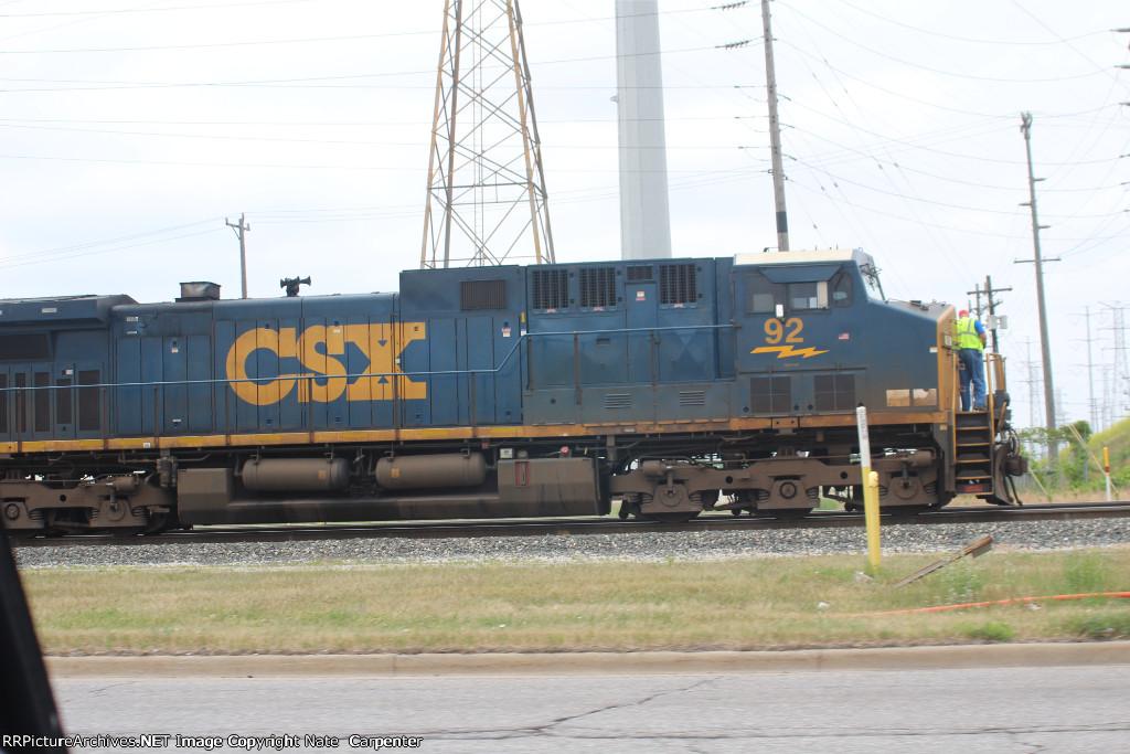 CSX 92