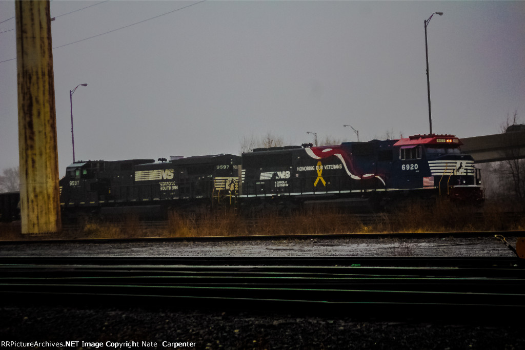 NS 6920 - the Honoring our Veterans SD60e