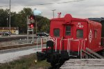 Erie Caboose in (almost) Fresh Paint