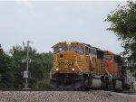 BNSF 9860 Pulling WB TXUX coal