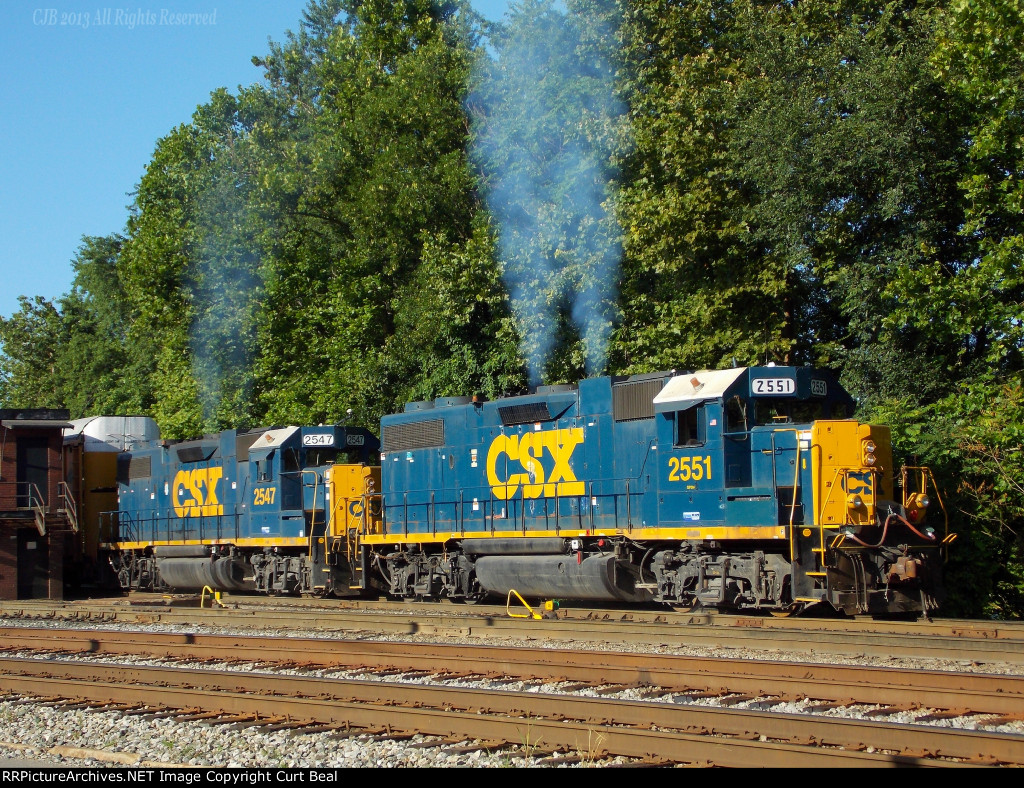 CSX 2551 and 2547 (4)