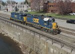 CSX 2551 and 6512