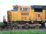 BNSF SD70MAC 8885