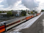 091010016 Eastbound SP 4449 on BNSF Midway Sub. with Mpls to La Crescent Fall Colors Excursion