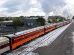 091010018 Eastbound SP 4449 on BNSF Midway Sub. with Mpls to La Crescent Fall Colors Excursion