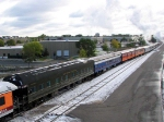 091010026 Eastbound SP 4449 on BNSF Midway Sub. with Mpls to La Crescent Fall Colors Excursion