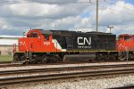 Canadian National - SD60 - GF-638c