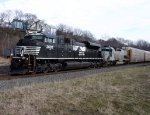 WB 11J With New NS SD70M-2 #2693 @ 1217 hrs.
