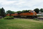 BNSF 7229, 7602, and 7017