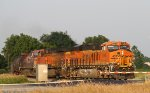 BNSF 6540 Crossing Hwy 52