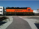 BNSF 2661 in the Zephyr pit