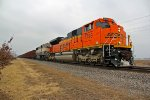 BNSF 8799 Newer Ace leads a KEEBIR.