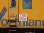 TEE Train Warning