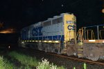 CSX GP38-2S 6151 leads C746-01 on track one