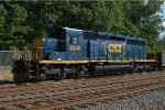 CSX SD40-3 4046 on the rear of C770-26