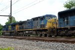 CSX AC44CW 5 trails on Q032-09