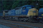 CSX C40-9W 9040 fourth out on Q300-18