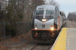 NJT 4630 arrives Hammonton station