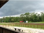 Stormy skies over Folkston.