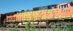 BNSF 5153, engineer's side