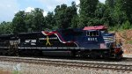 NS train #118 (Manifest) (Macon, GA - Linwood, NC) with (HONORING OUR VETERANS UNIT) (pic 2)