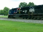 NS train #118 (Manifest) (Macon, GA - Linwood, NC) with (HONORING OUR VETERANS UNIT) (pic 3)