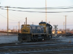 CSX 2442 & 1016 ready to go into the arrival yard to hump.