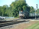 Eastbound NS container train.