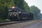 NS short freight. NS #8091