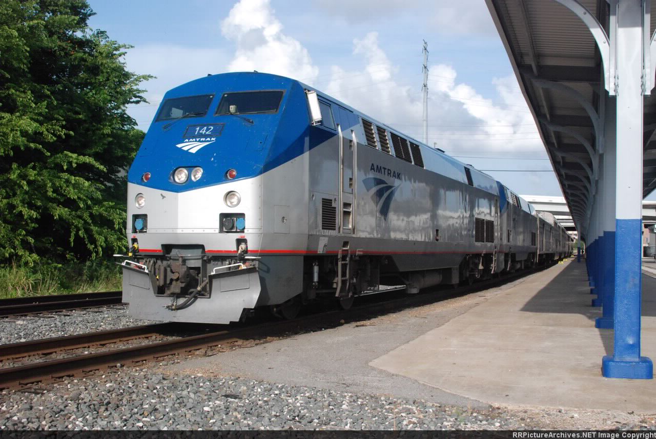 Amtrak Sunset Limited #1 at Houston