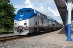 Amtrak Sunset Limited #1 at Houston