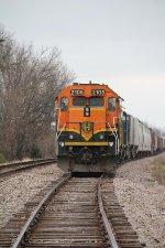 BNSF 2105 Head-On