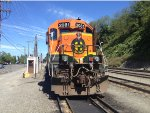 BNSF2081 up close at Naval Station Everett