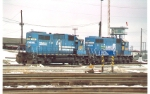 CSX (ex-CR) SD38s