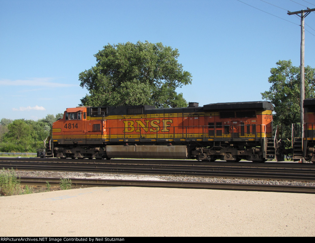 BNSF 4814