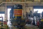 BNSF1743 in the diesel shops