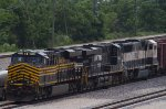 Heritage NS8100, NS7600 and BNSF9831