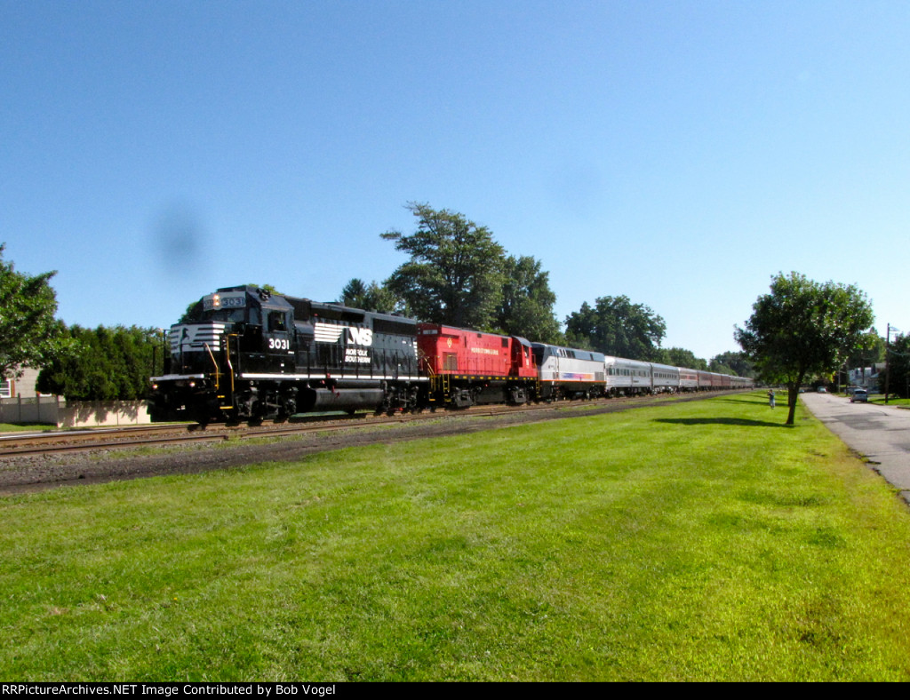NS 3031, ME 18, and NJT 4802