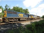 CSX 8582 and 38