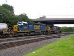 CSX 8406 and 560