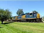 CSX 2624 and 4428