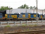CSX 8817, 2282, and 6922