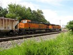 BNSF 7288 and 7100